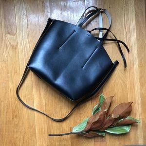 Zara Faux Leather Tote